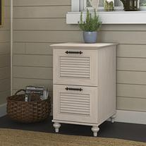 kathy ireland Office by Bush Furniture Volcano Dusk 2 Drawer