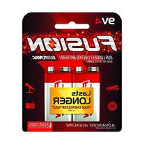 RAYOVAC 9V 4-Pack FUSION Premium Alkaline Batteries, A1604-