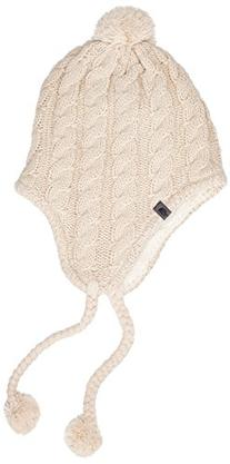 The North Face Women's Fuzzy Earflap Beanie Vintage White/