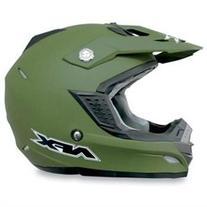 AFX FX-19 Solid MX Helmet Olive Drab XL