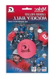Mylec Hot Weather Liquid Filled G-Force Hockey Balls,  RED