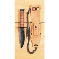 Ontario 499 Air Force Survival Knife, Black