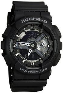 Casio G-Shock X-Large Display Stealth Black Watch  - Water