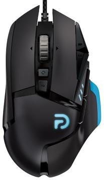 Logitech G502 Proteus Core Tunable Gaming Mouse, 12,000 DPI