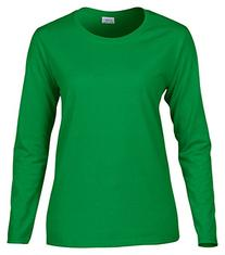 Gildan womens Heavy Cotton 5.3 oz. Missy Fit Long-Sleeve T-
