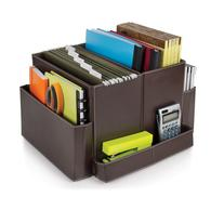 Guidecraft G6521 Folding Desk Organizer - Brown