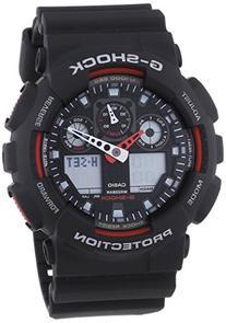 Casio Ga-100-1A4Er Mens G-Shock Combi Display Black Watch