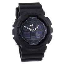 Casio Men's GA100-1A1 Black Resin Quartz Watch with Black