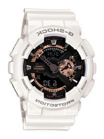 Casio Men's GA110RG-7A G-Shock White Watch