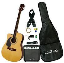 Glen Burton GA204BCO-NT Acoustic Electric Cutaway Guitar,