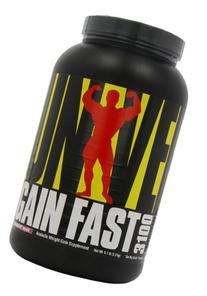 Universal Nutrition Gain Fast 3100, Strawberry Shake, 5.1-