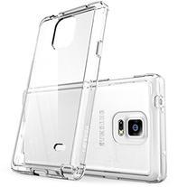 Galaxy Note 4 Case, i-Blason  Halo Series Hybrid Clear Case