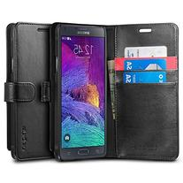 Spigen SGP11147 Wallet Case with Stand, S Black