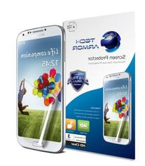 Tech Armor Samsung Samsung Galaxy S4  High Defintion  Clear