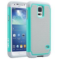 Galaxy S5 Case, ULAK Knox Armor Slim Hybrid Shockproof