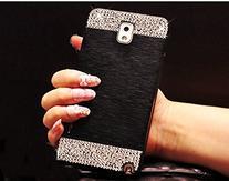 Galaxy S6 edge Case,Beauty Luxury Diamond Hybrid Glitter 3D