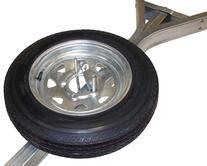 Malone Galvanized Trailer Spare Tire with Locking Attachment