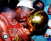 Michael Jordan Game 5 of the 1991 NBA Finals with