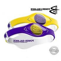 Game Day bracelet wristband Purple and Yellow size Small 7