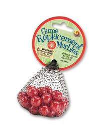 Mega Marble - Game Replacement Marbles 14mm - 30 Pcs - Red