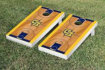 Marquette Golden Eagles Cornhole Game Set Basketball Court