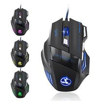 AFUNTA 3200 DPI Gaming Athletics Wired USB Mouse 7 Button