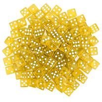 Brybelly Gaming Dice , 16mm, Yellow