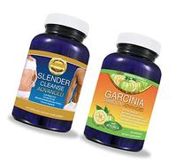 Pure Garcinia Cambogia Extract PLUS Detox Cleanse SYSTEM