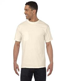 Comfort Colors 6.1 oz. Garment-Dyed Pocket T-Shirt, Small,