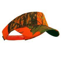 Garment Washed Camo Visor - Mossy Oak Blaze Orange