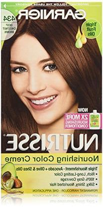 Garnier Nutrisse Nourishing Color Cr?me, 434 Deep Chestnut