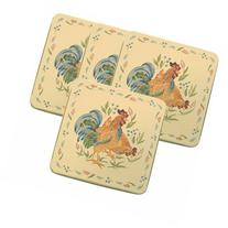 Corelle Gas Burner Covers, Country Morning, 4 Covers