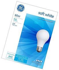 GE Lighting 41028 60-Watt A19, Soft White, 8-Pack Style: 8-
