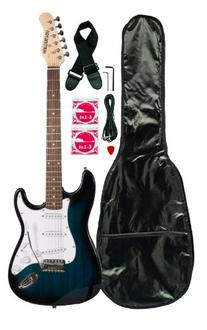 Huntington GE139-BLS Electric Guitar Pack, Blueburst
