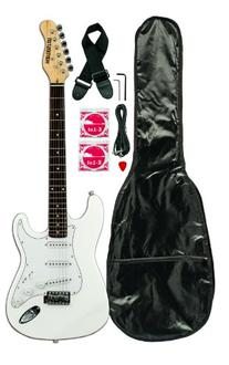 Huntington GE139-WH Electric Guitar Pack, White