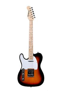 HUNTINGTON GE149-TS TL STYLE ELECTRIC GUITAR- TOBACCO