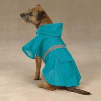 Guardian Gear Brite Rain Jacket for Pets, XX-Large, Bluebird