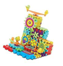 81 Piece Funny Bricks Gear Building Toy Set - Interlocking