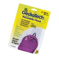 GeckoTech 282314 Removable, Reusable Hook with Microsuction