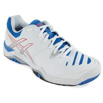 Asics Women's Gel-Challenger 10 Tennis Shoes White and