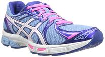 ASICS Women's Gel-Exalt 2  Running Shoe,Ice Blue/White/Hot