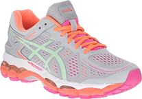 ASICS Women's Gel Kayano 22 Running Shoe, Silver Grey/