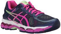 ASICS Women's Gel Kayano 22 Running Shoe, Indigo Blue/Pink
