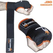 Meister Gel-Padded ProWrap Hand Wrap Gloves  - Small/Medium