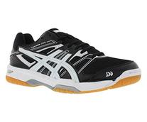 ASICS Men's Gel Rocket 7 Volley Ball Shoe,Black/White/Silver
