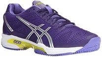 Asics Gel-Solution Speed 2 Women US 11.5 Purple Running Shoe