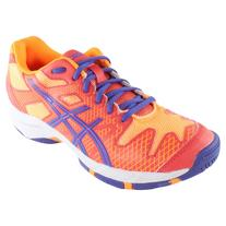 Asics Juniors' Gel-Solution Speed Tennis Shoes Hot Coral and