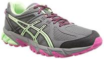 ASICS Women's Gel-Sonoma Running Shoe, Charcoal/Mint/Hot