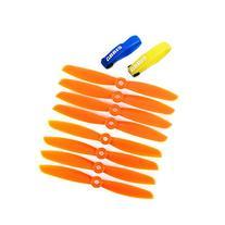 Gemfan 5045 5045R 2-Blade Multirotor Nylon Propeller Orange