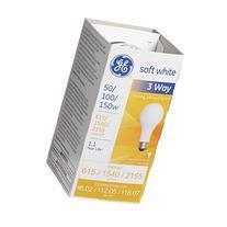 Three-Way Soft White Incandescent Bulb, 50/100/150 Watts
